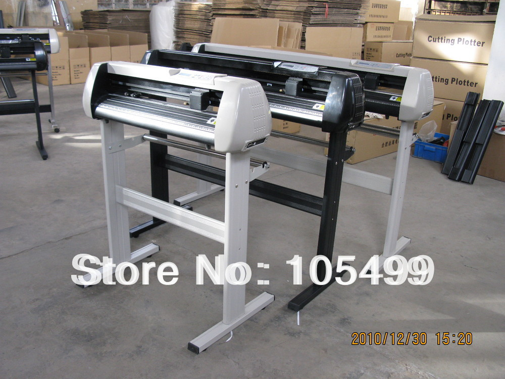 2014 china new cutting plotter cut machine vinyl plotter high quality low price free ship Spain