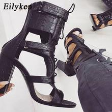 Eilyken High Heels Sandals Women Pumps Cross-tied Zipper Women Shoes