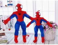 42-50 cm yeni geliş avengers süper hero spiderman peluş bebek oyuncak örümcek adam dolması toys aksiyon figürleri çocuklar toys hediye