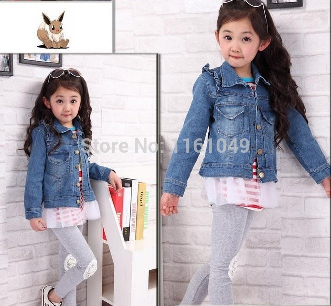 Popular Girls Jean Jacket Denim-Buy Cheap Girls Jean Jacket Denim ...