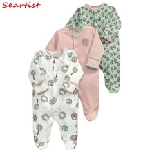 Seartist Newborn Footed Jumpsuit Kids Winter Autumn Pajamas Bebes Body Suit Footies Baby Boy Girl Clothes Baby Boy Clothes 32C cospot rush sale newborn footed jumpsuit kids winter autumn pajamas bebes body suit footies baby boy girl clothes 3pcs lot 30d