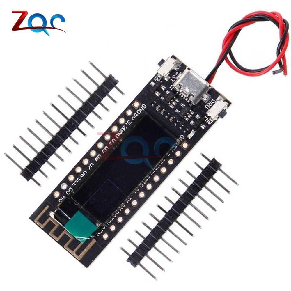ESP8266 WIFI 0.91 inch OLED CP2014 32Mb Flash Module Internet of things Board PCB NodeMcu for Arduino IOT Development Board