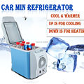 fast shipping 12V 6L Portable Mini Fridge Cooler and Warmer Auto Travel Car Boat Cigarette lighter car Vehicle Electric ABS