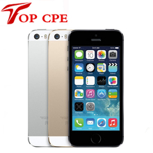 Fabrik setzte ursprünglichen apple iphone 5 s 16 gb/32 gb/64 gb rom 8mp touch id 1080 p wifi gps 4,0 zoll fingerprint ios verwendet telefon