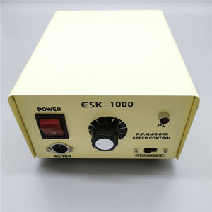 Image 2 - 45000RPM STRONG Marathon SDE SH37L M45 Micromotor Handpiece 100W 60000RPM ESK1000 Control Box Electric Nail Drill Machine Kit