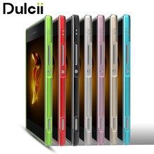 Dulcii для Sony Xperia XA1 бампер Чехол Винт блокировки покрытием Алюминиевый сплав металла Бампер для Sony Xperia XA1 чехол телефона ракушки