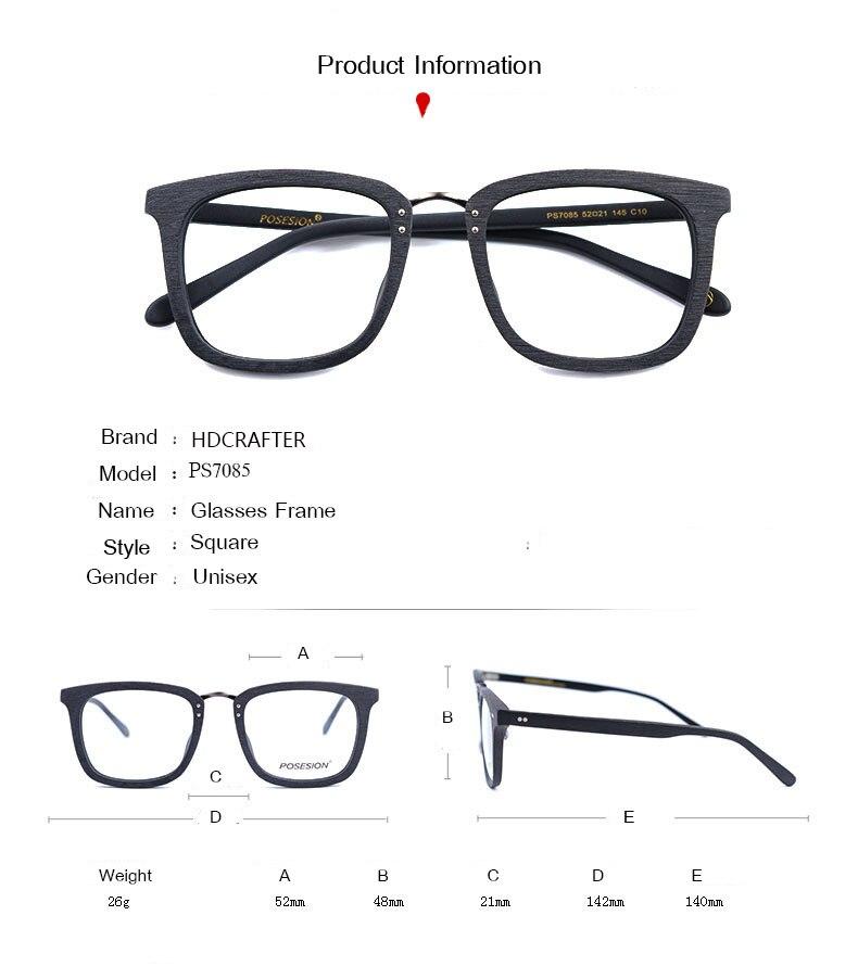 quadrado miopia prescrição óculos quadro 2019 masculino