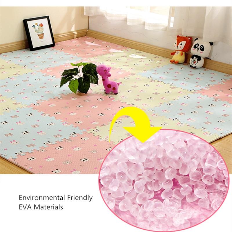 HTB1pIuvav1H3KVjSZFHq6zKppXaF EVA Foam Children's Mat Split Joint Baby Play Mat Puzzle Cartoon Panda Patterns Soft Floor Carpet For Baby Crawling Exercise