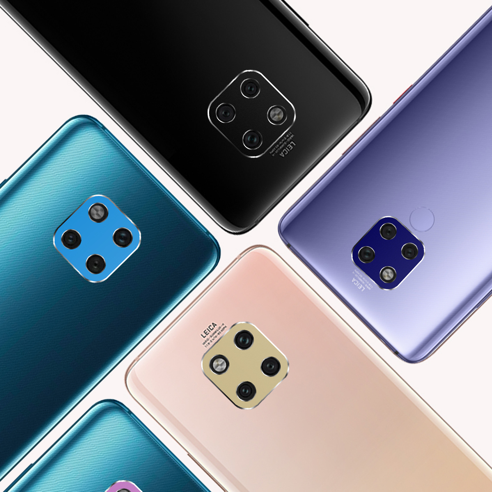 PORTEFEUILLE For HUAWEI Mate 20 Pro coque metal aluminum Camera Lens Screen Protector Full Bark Cover Film For HUAWEI Mate 20 X (2)