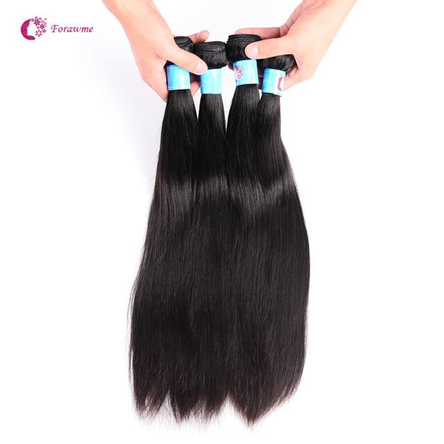WWW.FORAWMEHAIR.COM Forawme Hair   Hair   Peruvian Hair Straight   4 pcs lot  Human Hair Weaving , Straight peruvian