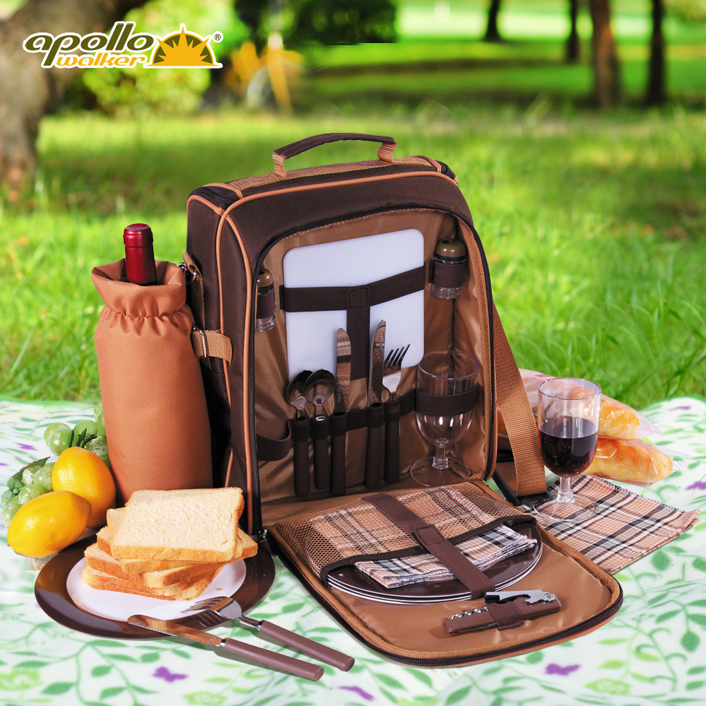 Apollo Lunch Box Oxford Fabric Ice Pack Cooler Bag  Picnic Bag Set Lunch Bag