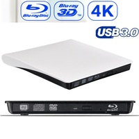 Maikou USB3.0 4K Bluray Recorder External Optical Drive 3D Player BD RE Burner Recorder DVD+/ RW DVD RAM for Asus Samsung Acer