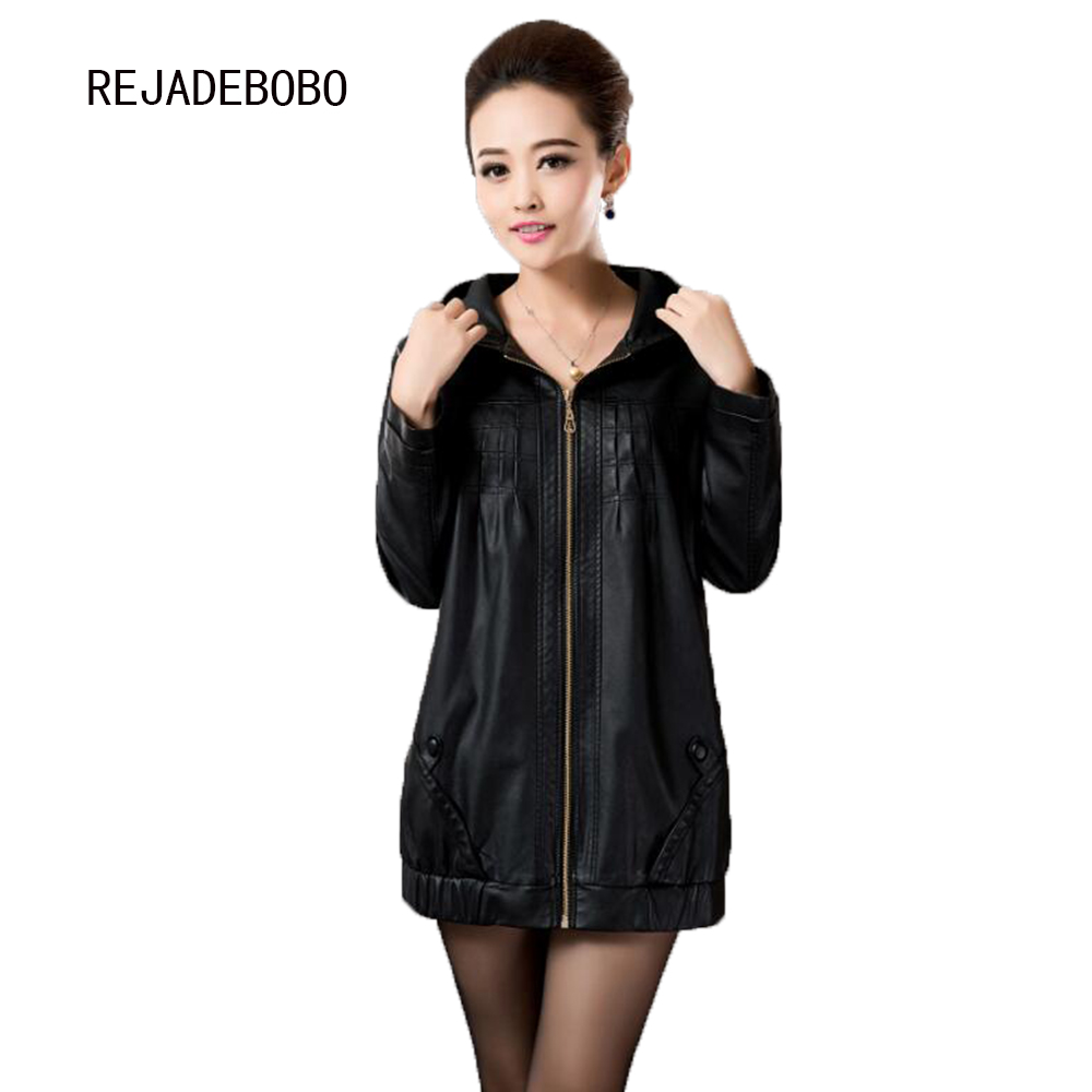 Popular Women Long Leather Coat-Buy Cheap Women Long Leather Coat ...