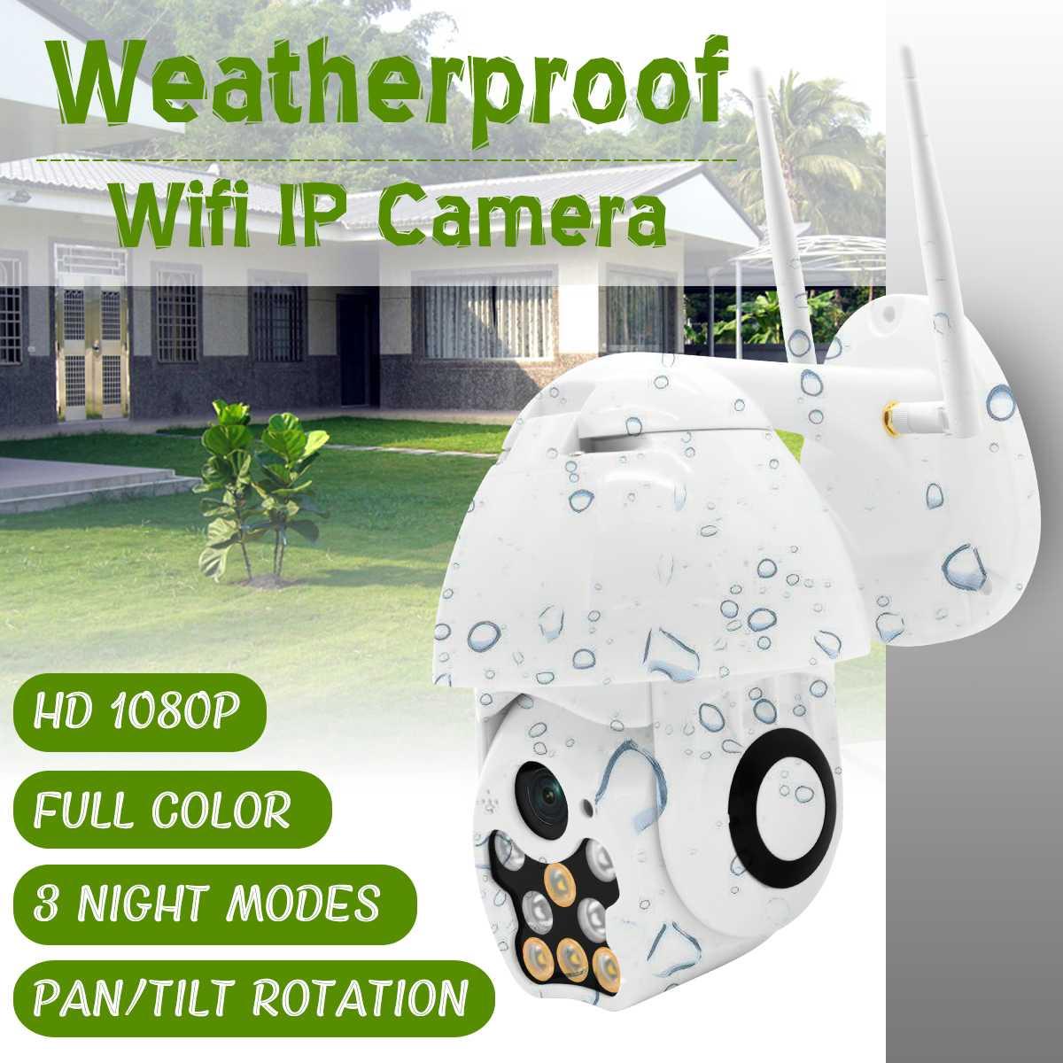 1080 P HD PTZ WIFI caméra IP panoramique inclinaison Zoom extérieur étanche 2MP 4 MM IR maison surveillance APP Vision nocturne caméra de sécurité