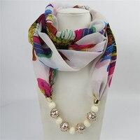 ahmed новый дизайн печать veto пользователь Chef автобусы шарф для цепочки и ожерелья для женщин макси заявление ожерелья для мужчин модные украшения