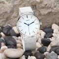 Relógios Das Mulheres Dos Homens Novos Mens Watch Relógio Relógio de Moda Relógio de Quartzo do Aço Inoxidável das Mulheres dos homens Relógios de Pulso Malha Relogio masculino