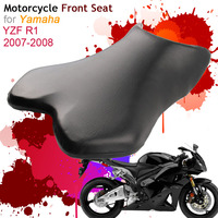 For Yamaha YZF1000 YZF R1 2007 2008 Front Seat Cover Cushion Leather Pillow YZF R1 YZF 1000 07 08 Motorcycle Rider Driver Seat