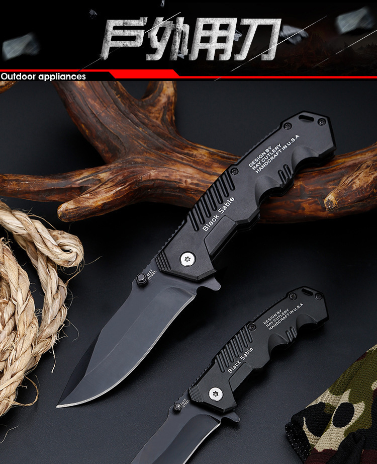 Folding Tactical Knife For Camping & Hunting 7