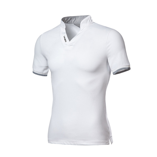 Shop Shirts Men Sleeve Online Short Brand Polo Collar Good Stand sQdhrxtBC