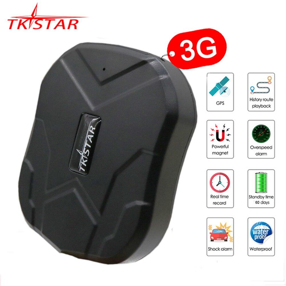 Traqueur GPS 3G TKSTAR TK905 traqueur GPS voiture 60 jours en veille étanche GPS traqueur de véhicule Auto aimant moniteur vocal APP gratuite