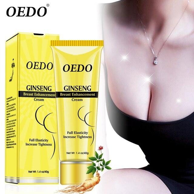 40g planta Natural Ginseng pecho crema agrandamiento de pecho crema busto mejorar masaje cuerpo tratamientos crema