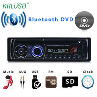 Auto Radio Car 1 din Bluetooth DVD CD USB SD Card MP3 Player WMA 12V Hands free Music FM AUX Phone Charging Audio Coche Voiture