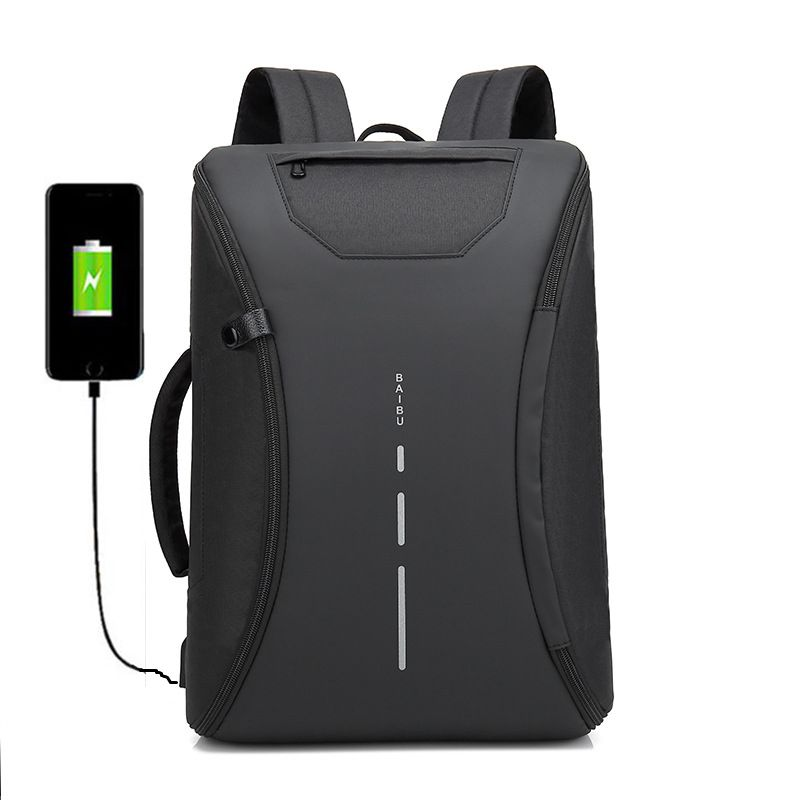 NEW Men 15.6 Laptop Backpack Anti Theft Backpack Usb Charging Men School Notebook Bag Oxford Waterproof Travel Backpack 17 3 17 15 15 6 inch laptop bag anti theft backpack with usb charging school notebook bag men oxford waterproof travel backpack