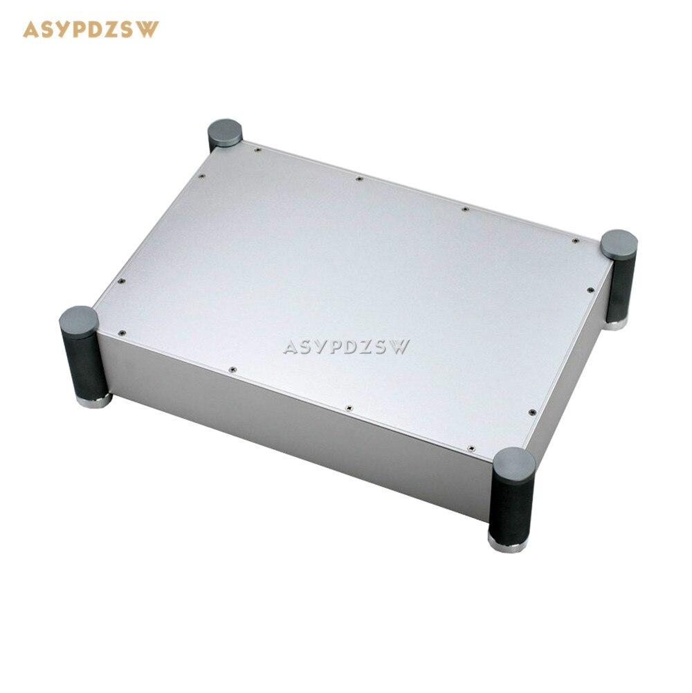WA62 Full aluminum enclosure Power font b amplifier b font chassis Tube font b amplifier b