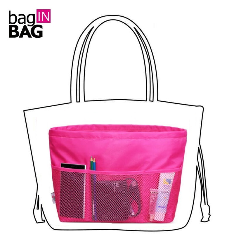 Best Purse Organizer Fits Perfectly In My Handbag And Protects The Inside Fabric Borse 2 Sizes Rose Cosmetic Bags Cases From Luggage