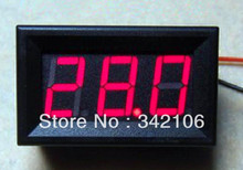 Free Shipping!!!  5pcs 7 ~ 100V two-wire voltmeter / digital voltmeter electric cars suitable 36V/48V/60V/72V