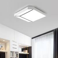 NOVA Chegada design Moderno Preto + branco Luz de Teto casa Inteligente LEVOU máscara de Lâmpada Moderna lâmpada Do Teto de alta qualidade para sala de estar