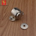 CHICOO Easy Installation Building Decoration Magnetic Doorstopper Floor Mount Satin Nickel