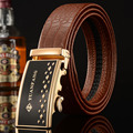 manufacturers scratch microfiber leather belt buckle belt automatic men's business casual male Korean fashion belts wholesale