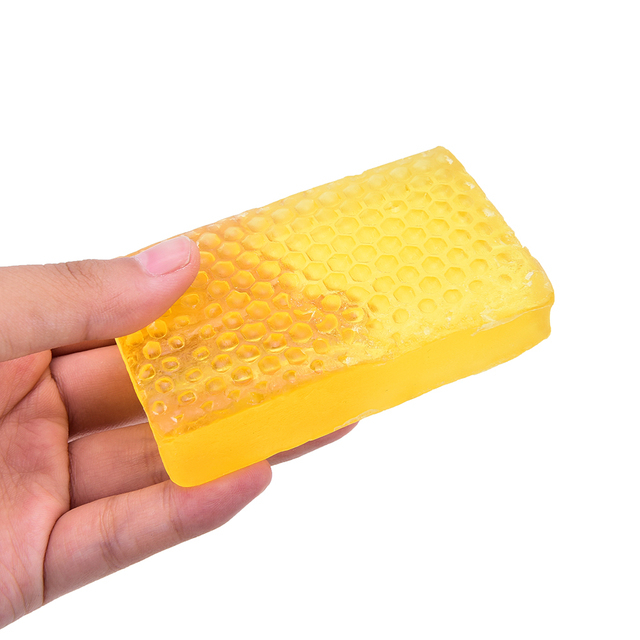 1PCS New 100% Handmade Whitening Peeling Glutathione Arbutin Honey Kojic acid Soap
