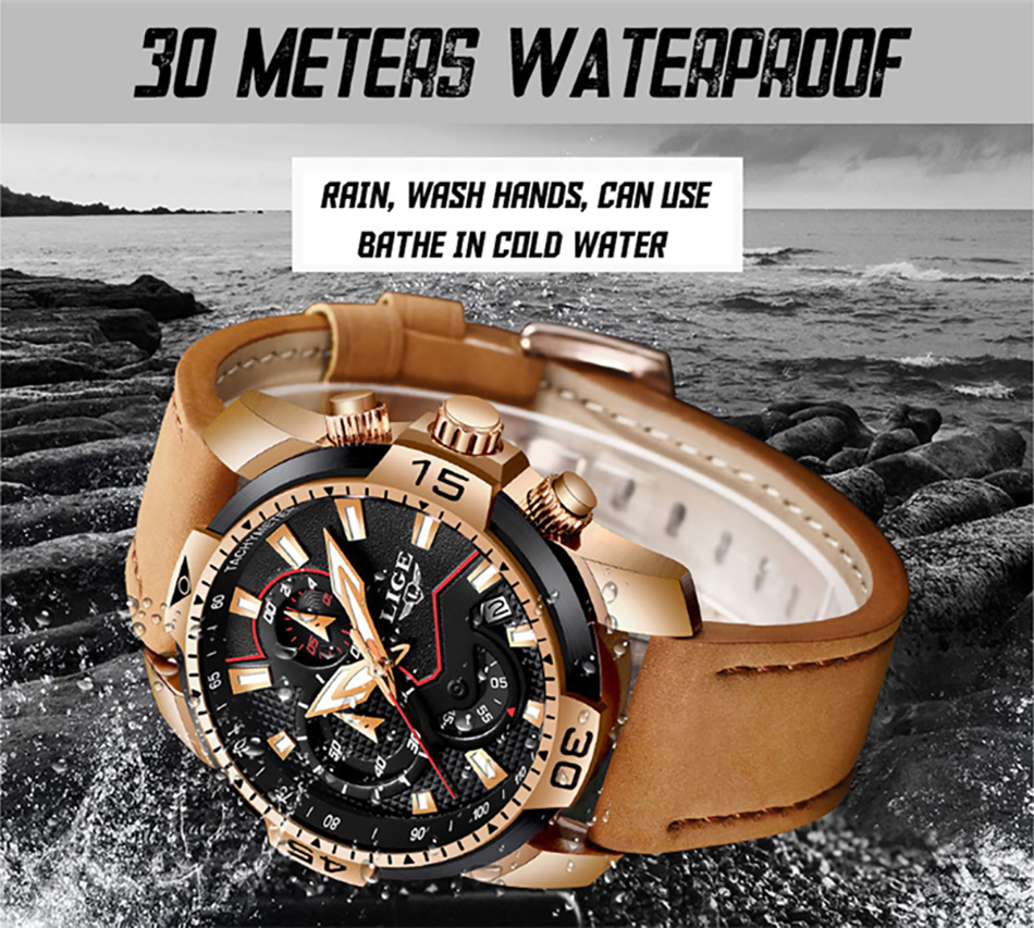 HTB1pIyZP6DpK1RjSZFrq6y78VXaJ LIGE 2019 Fashion Men's Sport Watch Men Analog Quartz Watches Waterproof Date Military Multifunction Wrist Watches Men Clock+Box