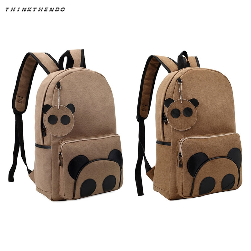 THINKTHENDO Yonger Fashion Panda Pattern School Bag Boy Girl Multifunction Backpack Cartoon Large Capacity Backpack Hot New 2018-in Backpacks from Luggage & Bags on AliExpress - 11.11_Double 11_Singles' Day 1