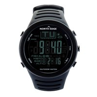 NORTH EDGE Fishing Altimeter Barometer Thermometer Altitude Men Smart Digital Watches Sports Climbing Hiking Clock Montre Homme