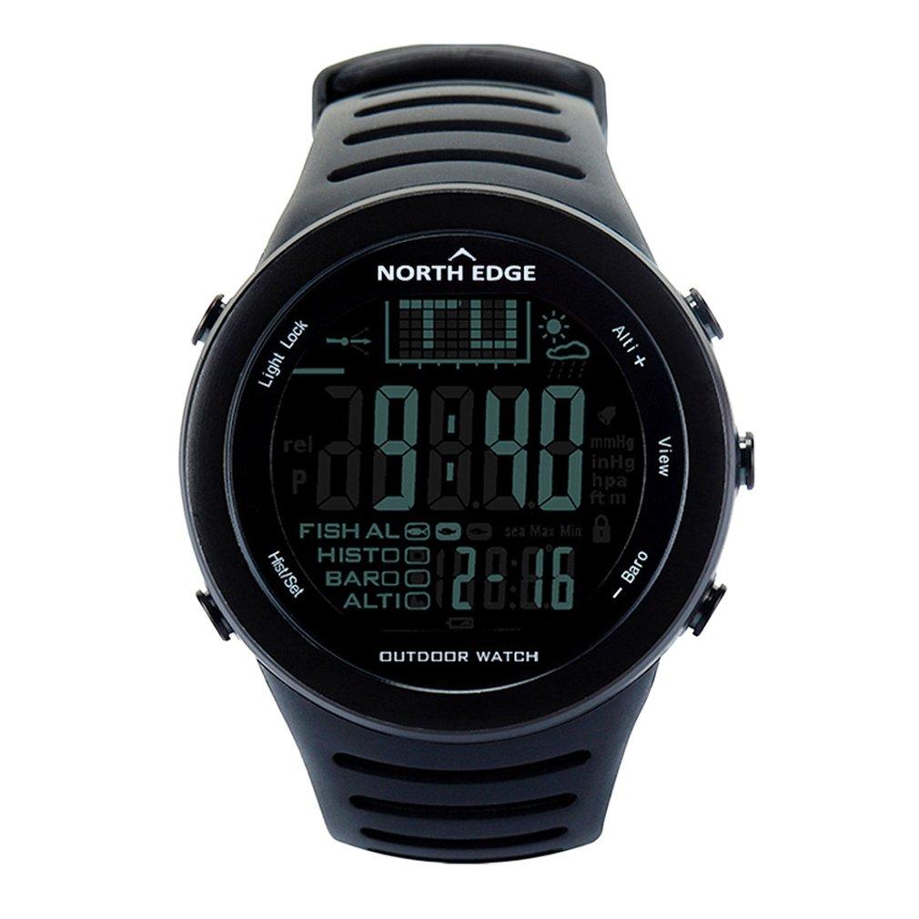 NORTH EDGE Fishing Altimeter Barometer Thermometer Altitude Men Smart Digital Watches Sports Climbing Hiking Clock Montre Homme стоимость