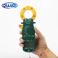 KJ209 small DC AC digital clamp meter portable pocket DC AC Clamp ammeters MULTIMETER