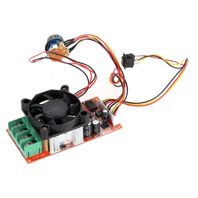 us $16 49 50% off adjustable h bridge dc motor speed pwm controller with plc control reversing switch braking fan 12v 24v 36v 50v speed adjuster in dc  12v dc plc wiring #12