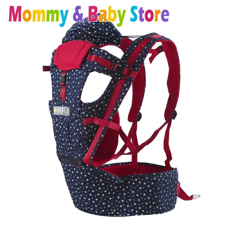 Infant Baby Carrier Adjustable Wrap Sling Backpack Waist Strap Suspender for 3-20kg waist within 115cm 0-4Y