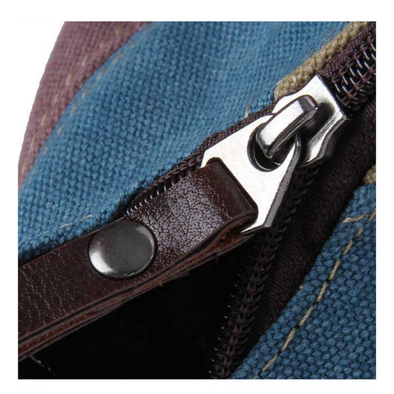 ABDB 2018 модная женская сумка холщовая сумка-мессенджер кожаная сумка через плечо полосатая сумка через плечо