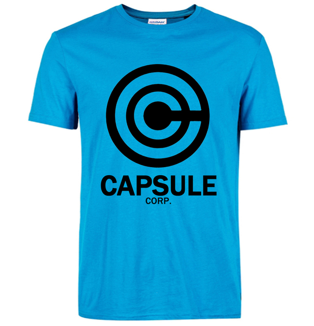 2016 DRAGON BALL Z t shirt Fashion streetwear capsule cotton Men funny T Shirts Tops Tees top brand slim clothing pp crossfit
