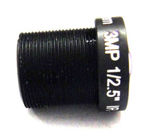10X HD 3MP 6mm Fixed Iris M12 MTV IR Board 1080p IP CCTV Lens M12*0.5 for Security CCD Camera
