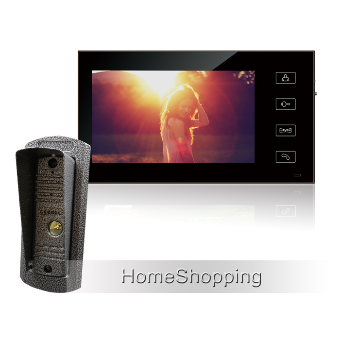 FREE SHIPPING Wired 7 Color Touch Screen Video Door phone Intercom Entry + 1 Monitor + 1 Waterproof Doorbell Camera IN STOCK peace education at the national university of rwanda