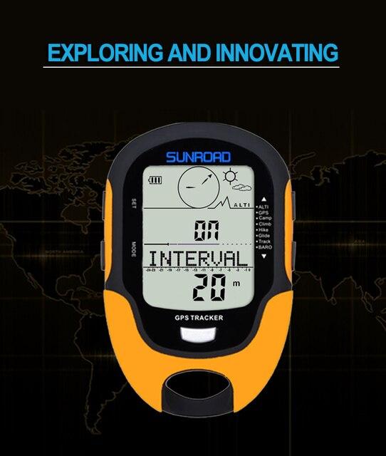 SUNROAD GPS Navigation Tracker 4