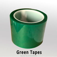 High temperature polyimide green tapeing 3D Printer  75mm  0.08mm