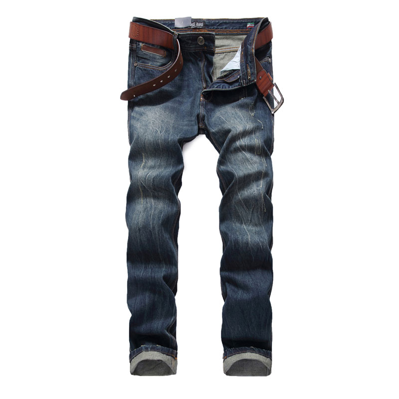 High Quality Dsel Brand Men Jeans Straight Fit Dark Color 100% Cotton Distressed Ripped Jeans For Men Italian Designer Jeans Men 2017 new original high quality dsel brand men jeans straight fit distressed ripped jeans for men dsel brand jeans home 604 a