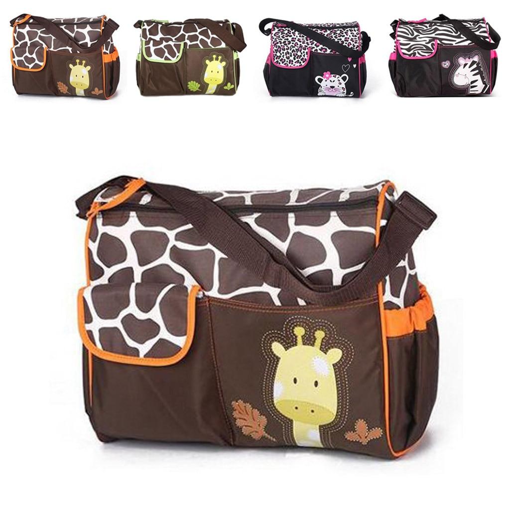 WZF daily Goods Store 9x32x15CM Multifunctional Baby Big storage bags Diaper Nappy Changing Storage Bag Mummy Handbag Cartoon