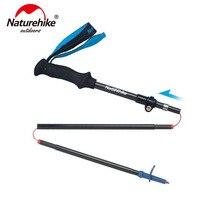 Naturehike Carbon Fiber Ultralight 5-sections Foldable Adjustable Trekking Pole Carbon Fiber Walking Hiking Stick NH18D010-Z